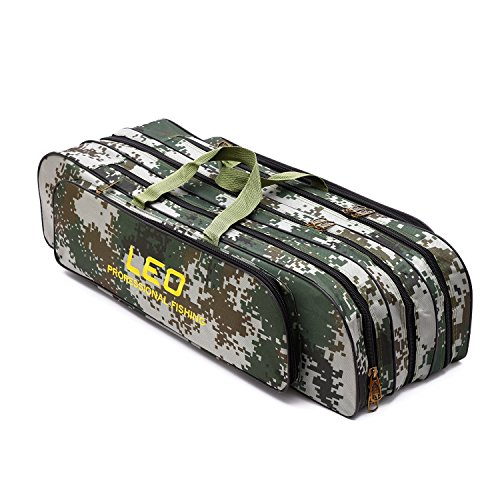 Rod Fishing Bag 3 Layer Case Tackle 80cm - 6