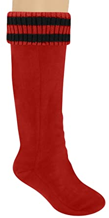 Capelli New York Ladies Tall Rain Boot Liner With Stripe Cuff at ...