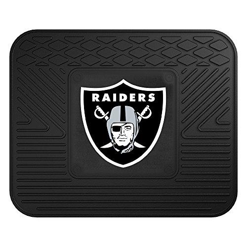 - FANMATS NFL Oakland Raiders Vinyl Utility Mat