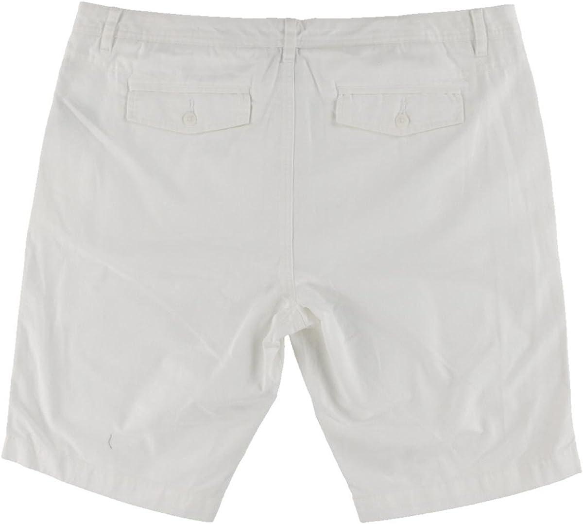 Kenneth Cole Mens Mini-Herringbone Casual Walking Shorts