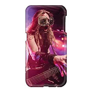 Scratch Protection Hard Phone Covers For Samsung Galaxy S6 (IXu8380WyTK) Customized Fashion Ensiferum Band Pattern