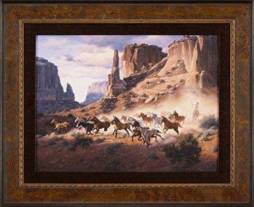 Sandstone & Stolen Horses Framed Print - Sandstone Framed