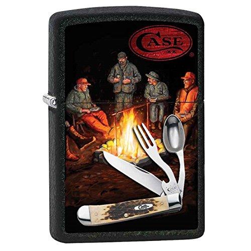 Zippo Case XX Hobo Campfire Custom Lighter