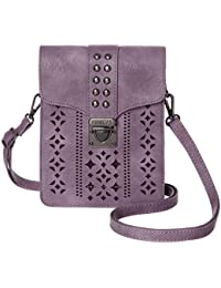 adc7c2b56092 Women RFID Blocking Small Crossbody Bags Cell Phone Purse Wallet With  Credit Card Slots