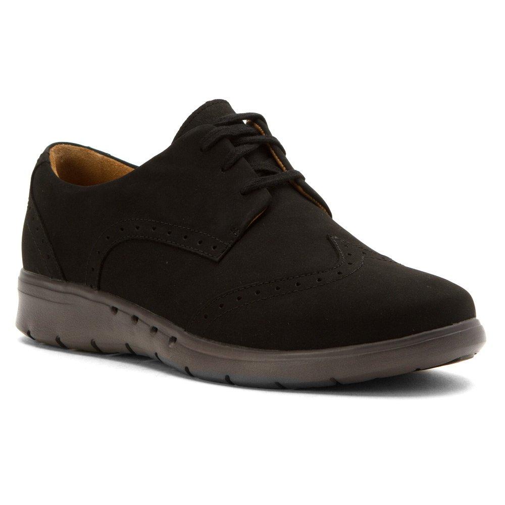 Noir Nubuck CLARKS Wohommes Un.Hinton Oxfords chaussures 40 EU