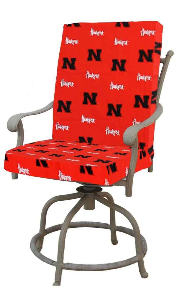College Covers Nebraska Cornhuskers 2pc Chair Cushion