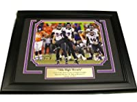 Justin Tucker Autographed 8x10 Mile High Miracle Photo Baltimore Ravens Framed