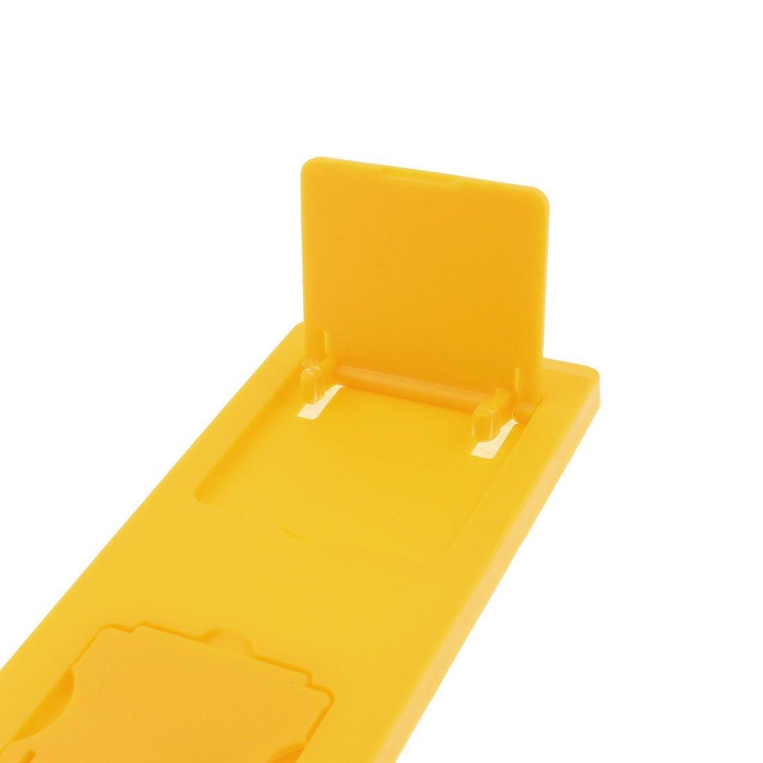 eDealMax a16010500ux2722 marco de plástico Teléfono móvil de la pantalla plegable Lupa base de color amarillo, - - Amazon.com