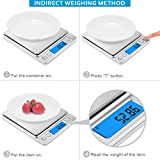 AMIR Digital Kitchen Scale Upgraded, 500g/0.01g