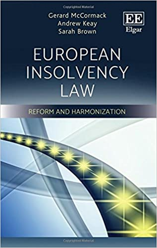 European Insolvency Law: Reform and Harmonisation: Gerard
