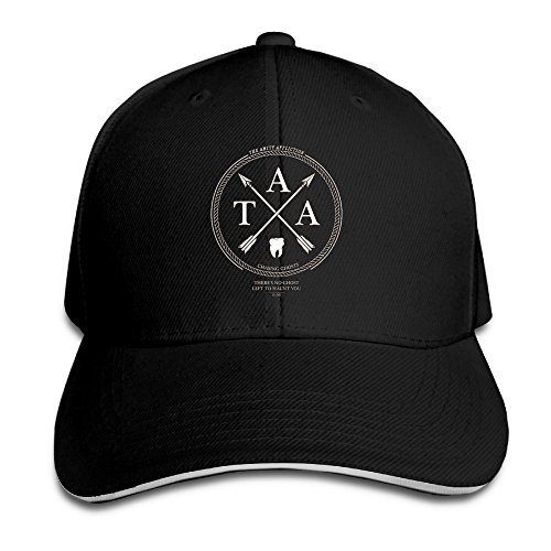 TOEYSO Fitted Sandwich Bill Cap The Amity Affliction Ryan Burt Dan Brown Metalcore Band Visor Hats