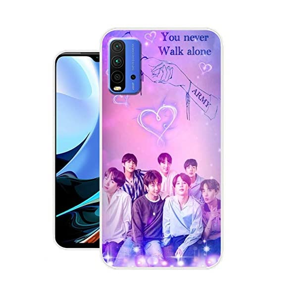 Kvoice BTS Patterns Printed Soft Silicone Designer Mobile Back Cover Compatible with Mi Redmi 9 Power (Designer… 2021 July PREMIUM DESIGN: High quality minimalist design to enhance your device outlooks SURFACE PROTECTION: Raised lip with extra cushion on edges ensures that your screen does not touch the surface when face down PERFECT CUTOUTS: All cutouts are engineered to perfection to provide unfettered access to all ports and controls