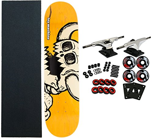 Toy Machine Complete Pro Skateboard VICE Dead Monster (Assorted Colors) ()