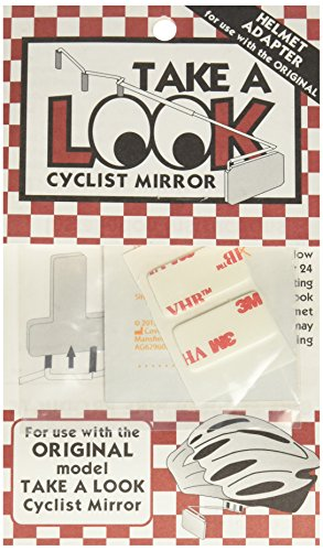 Bike Peddler Take A Look Cycling Eyeglass Mirror Helmet