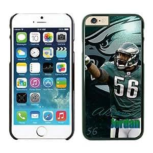 Philadelphia Eagles Akeem Jordan Case For iPhone 6 Plus Black 5.5 inches