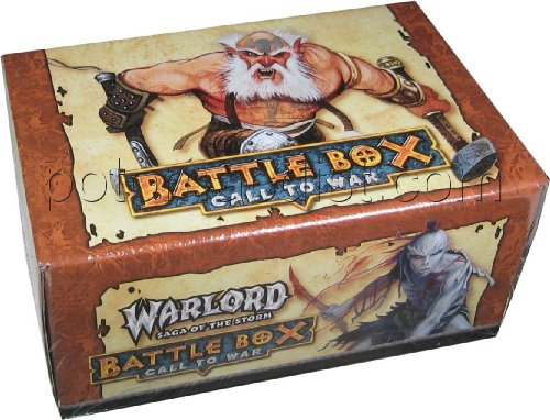 Warlord CCG: Saga of the Storm Battle Box II Call to War Limited Two-Player - Warlord Ccg