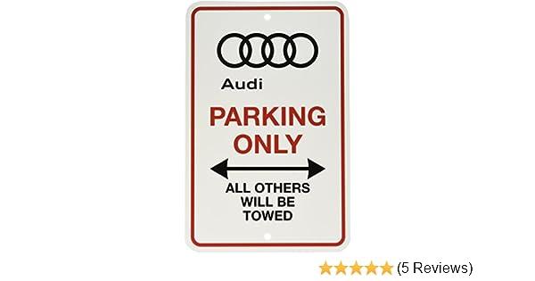 """Triumph Logo Parking Sign Diamond Etched on 12/"""" X 18/"""" Aluminum Matte Black"""