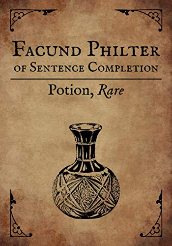 RPG Journal: Blank college ruled notebook for role playing gamers: Potion: Facund Philter