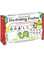 Pre-Printing Practice, Grades PK - 1: Write On/Wipe Off