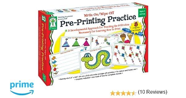 Amazon.com: Key Education Pre-Printing Practice: Karen Seberg ...