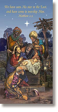 Wise Men Holiday Church Banner