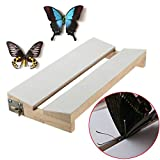 insect spreading board - New Adjustable V Shape Insects Butterfly Spreading Mounting Board Solid Wood Wings