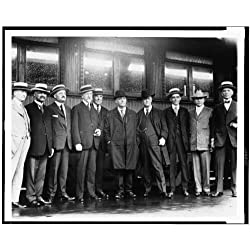 Photo: President Warren G Harding,men,tour,Alaska,West,journeys,transportation,1923