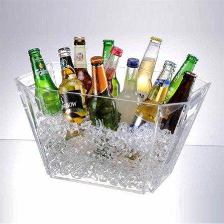 Acrylic Ice Bucket (Prodyne Four Bottle Tub, 16