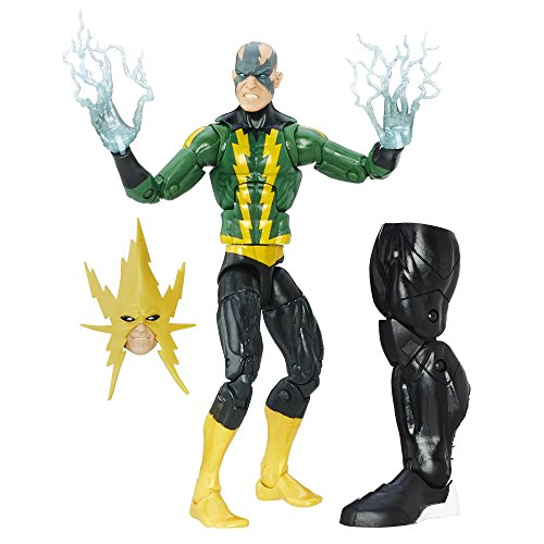 Marvel Spider-Man 6-inch Legends Series Evil Adversaries: Marvel's Electro]()