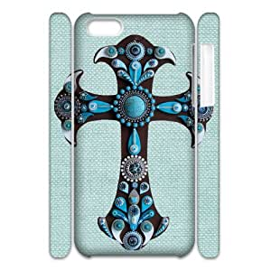 WAKEUP Diy Customized 3D Phone case Jesus Christ Cross for iPhone 5C
