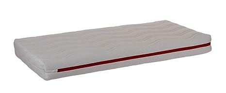 Colchón de cuna LÁTEX 100% para cunas de 120x60cm antiácaros hipoalergenico transpirable adaptable al cuerpo