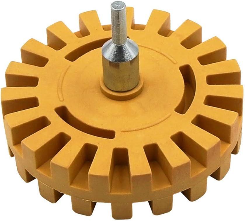 Farrom Pneumatic Degumming Wheel Rubber Grinding Tire Polishing Wheel Tool