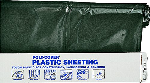 LBM Poly ORGILL POLY 6X32-B Polyethylene Sheeting, 6-Mil,...