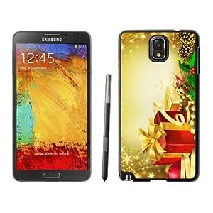 Diy Design Merry Christmas Black Samsung Galaxy Note 3 Case 42