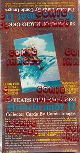 GREG HILDEBRANDT 2 1993 COMIC IMAGES FACTORY SEALED TRADING CARD BOX OF 48 PACKS (Comic Images Trading Card Box)