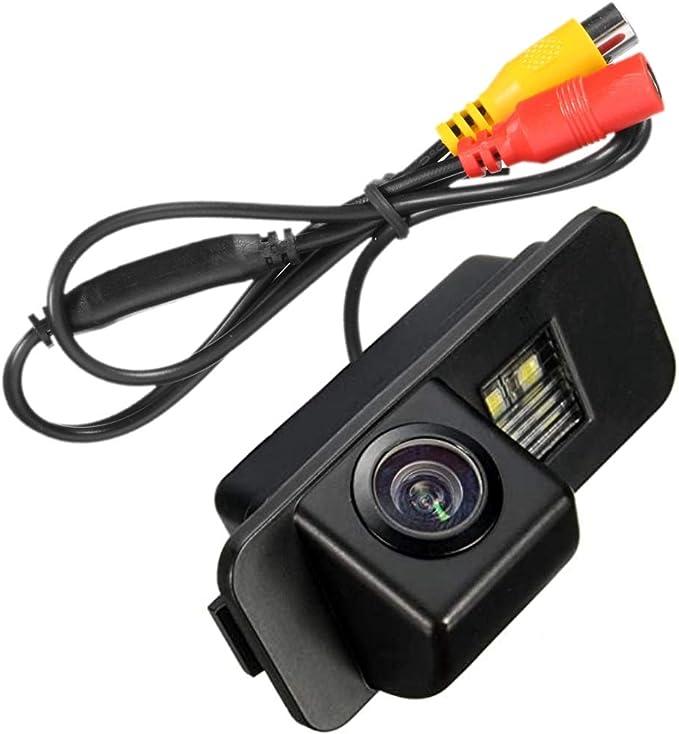Akhan Cam16 3 Farb Rückfahrkamera Einparkhilfe Kamera Für Nummerschildbeleuchtung Kennzeichenbeleuchtung Auto