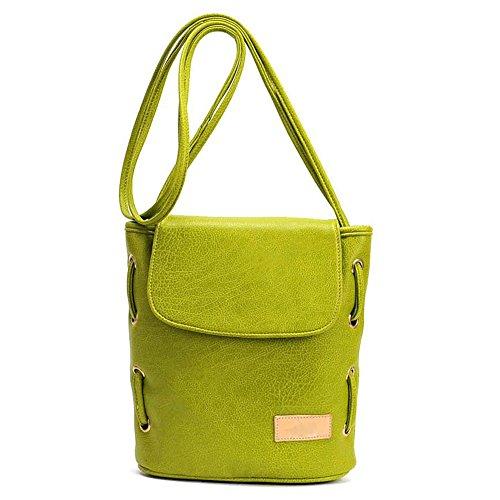 Pairs D, Borsa a zainetto donna verde green