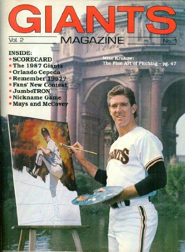 Giants Magazine: Vol. 2, No. 1 (Mike Krukow Cover)