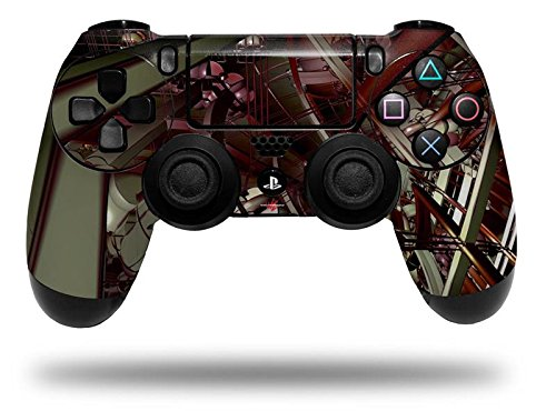 Domain Wall - Decal Style Wrap Skin fits Sony PS4 Dualshock Controller (CONTROLLER NOT INCLUDED) by WraptorSkinz (Ps4 Controller Wrap compare prices)