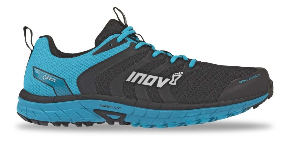 Inov8 Men's Parkclaw 275 GTX Running Shoes & Performance Headband Bundle B07FWFDXS7 9 M US|Black / Blue