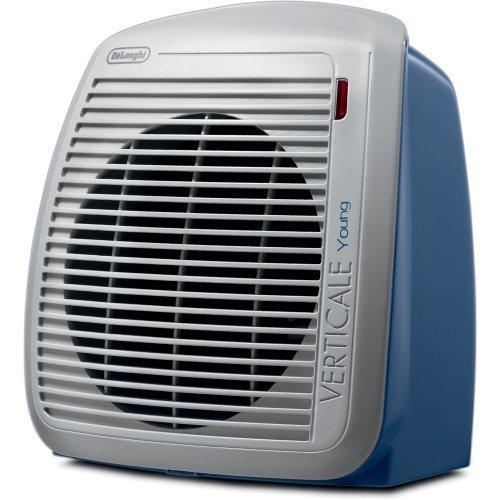 DeLonghi HVY1030BL 1500-Watt Fan Heater - Blue with Gray Face Plate by Delonghi Ceramic Heaters DeLonghi