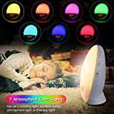 Wake Up Light Sunrise Alarm Clock, 7 Colors Bedside