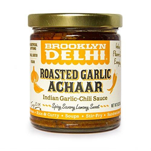 Brooklyn Delhi, Relish Achaar Roasted Garlic, 9 Ounce
