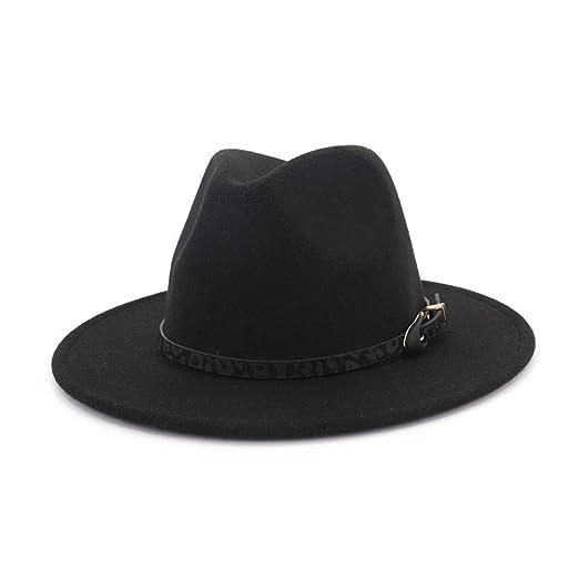b854ad97d Vim Tree Womens Wide Brim Felt Fedora Hat Ladies Panama Hat with ...