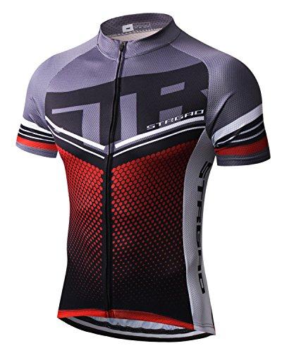 Mengliya MR Strgao Men s Cycling Jersey Bike Short Sleeve Shirt Size L 66cb22e9f