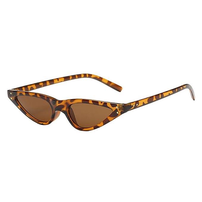Fossen Unisexo Vintage Gafas De Sol Gafas Gato Ojos Pequeño Retro Moda Gafas Para Mujer Hombre 3CahASgN