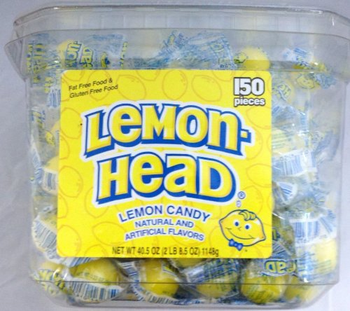 Lemonhead 150ct Tub - Individually Wrapped