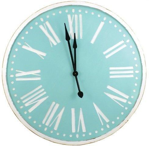 Split P 4100-244 Spa Wood Clock44; 36 in.