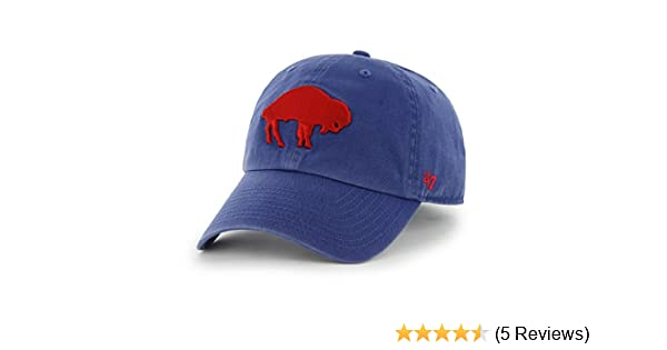 new styles 547a4 f341f ... aliexpress amazon buffalo bills 47 brand nfl royal blue throwback clean  up adjustable hat sports outdoors