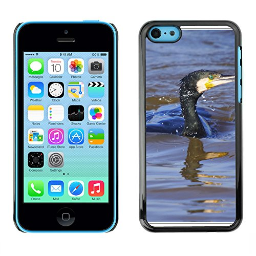 Premio Sottile Slim Cassa Custodia Case Cover Shell // F00013916 oiseau // Apple iPhone 5C